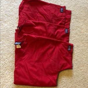 Cherokee workwear scrub tops and matching jacket
